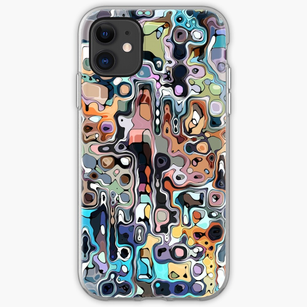 Abstract Digital Doodle 2 iPhone Case & Cover