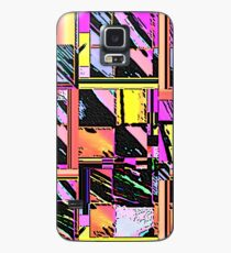 Abstract Color Squares Case/Skin for Samsung Galaxy