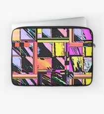 Abstract Color Squares Laptop Sleeve