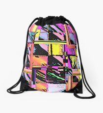 Abstract Color Squares Drawstring Bag