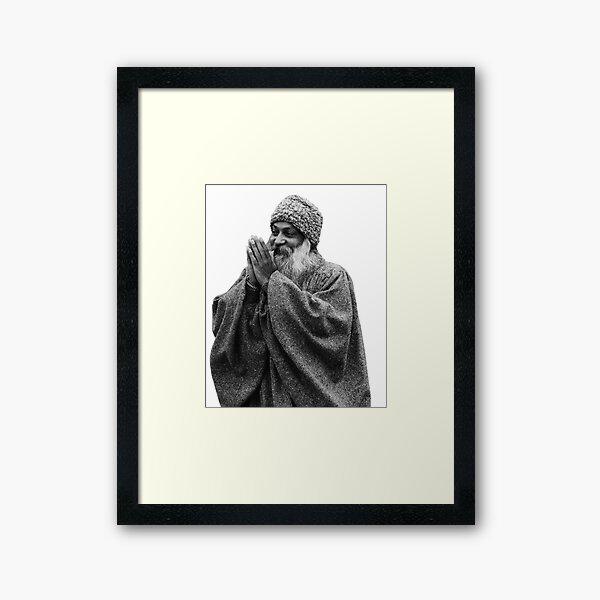 Bhagwan Rajneesh Framed Art Print