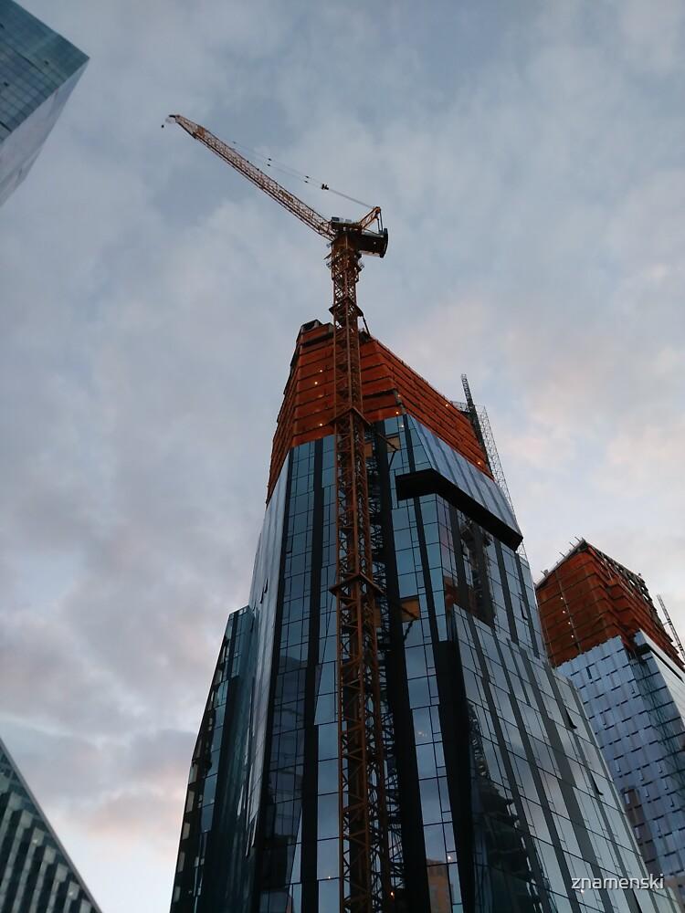 New York, Manhattan, New York City, Skyscraper, tower block, high rise building, tower, block, high rise, building by znamenski
