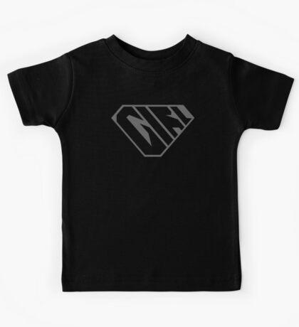 Girl SuperEmpowered (Black on Black) Kids Clothes