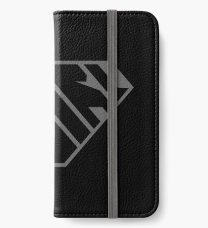 Girl SuperEmpowered (Black on Black) iPhone Wallet