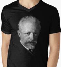 composer Tchaikovsky Men's V-Neck T-Shirt