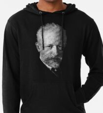 composer Tchaikovsky Lightweight Hoodie