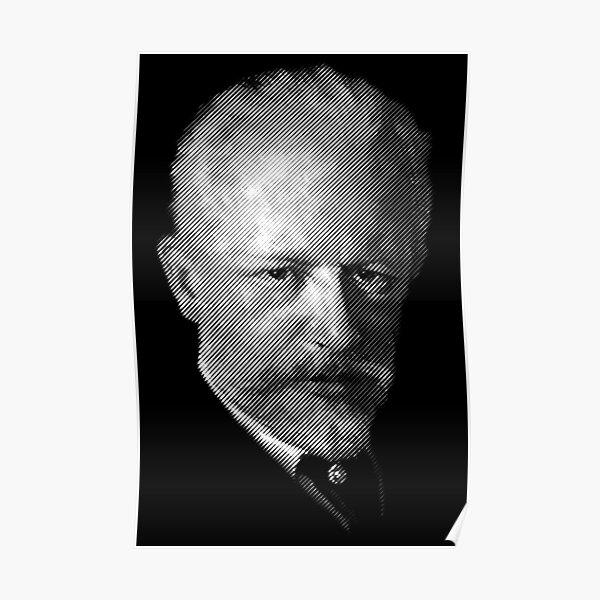 composer Tchaikovsky Poster
