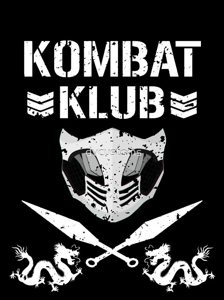 """Mortal Kombat """"Kombat Klub"""" by dvcustoms"""
