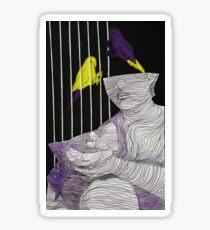 One Caged Bird Sticker