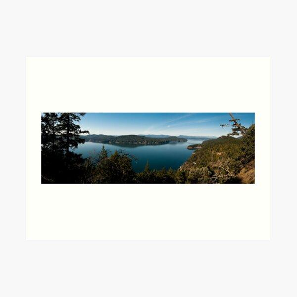 Vulture RIdge Trail View Art Print