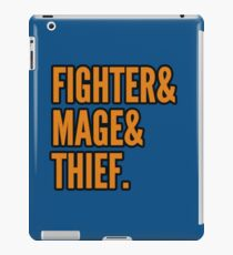 Fighter/Mage/Thief iPad Case/Skin