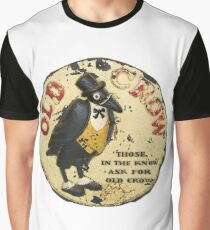 OLD CROW WHISKEY - Vintage advert Graphic T-Shirt