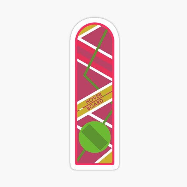 Hoverboard - Regreso al futuro Pegatina