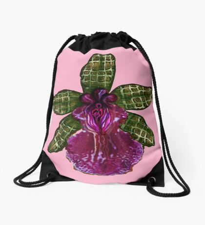 Pinque Purrfection Drawstring Bag