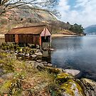 Rusty Boathouse by Adrian Evans