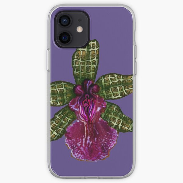 Pinque and Purrple iPhone Soft Case