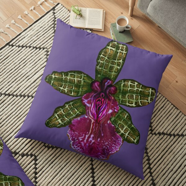 Pinque and Purrple Floor Pillow