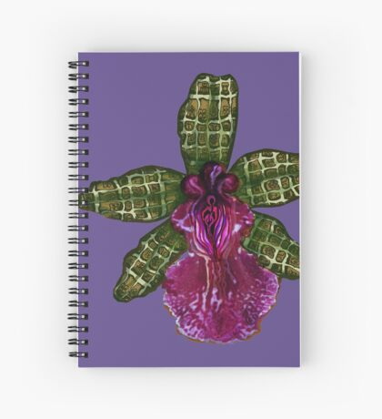 Pinque and Purrple Spiral Notebook