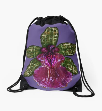 Pinque and Purrple Drawstring Bag