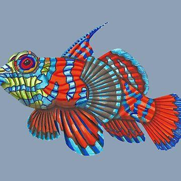 Mandy Mandarin Fish by LindaMcM8