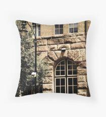 'streetscape' Throw Pillow