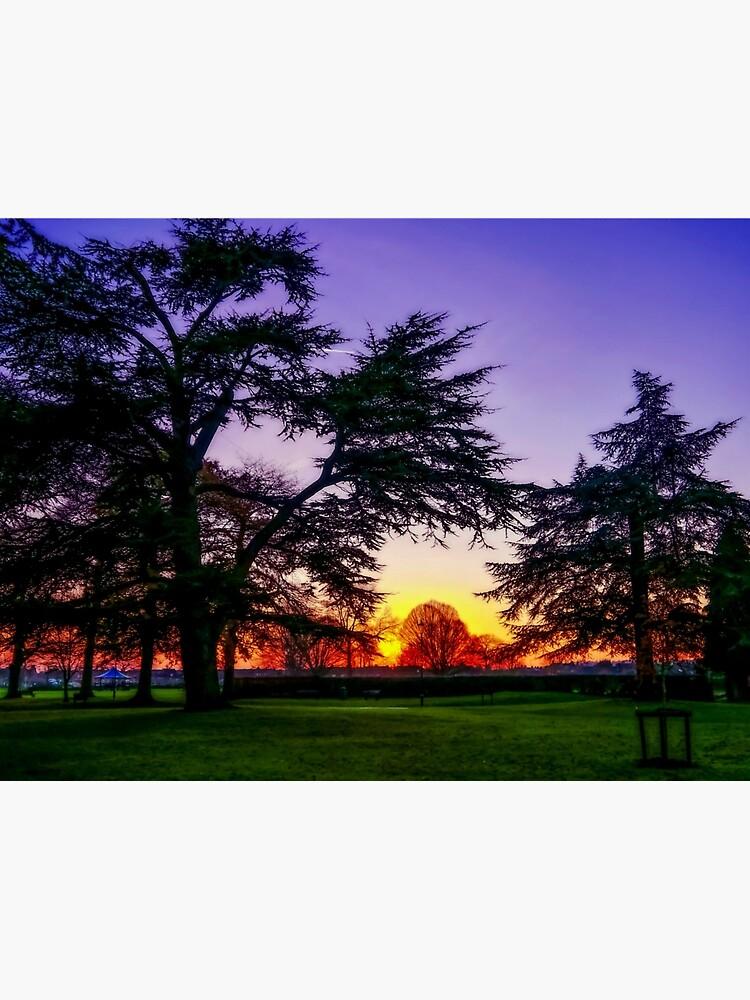 Sunset landscape by ScenicViewPics