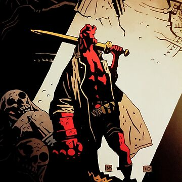 Hellboy : The Royal by Oclibertine