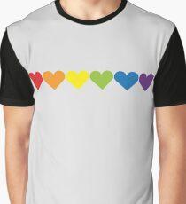 Pride Hearts Graphic T-Shirt