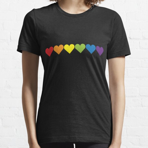 Pride Hearts Essential T-Shirt