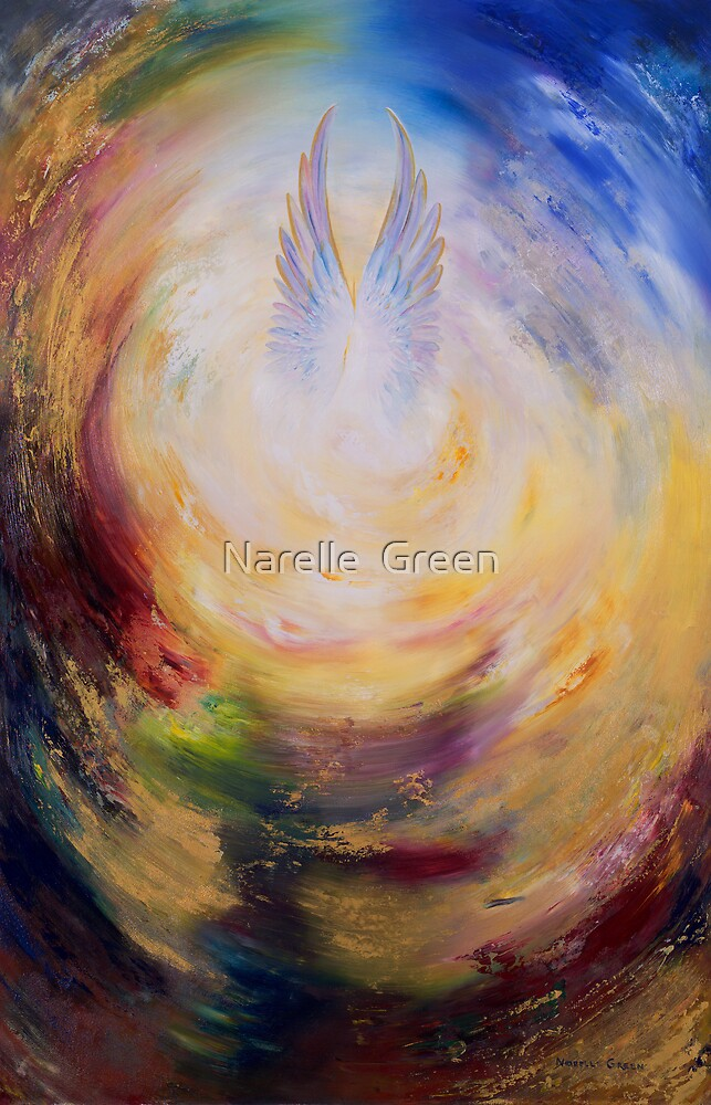 Angel Wings by Narelle  Green