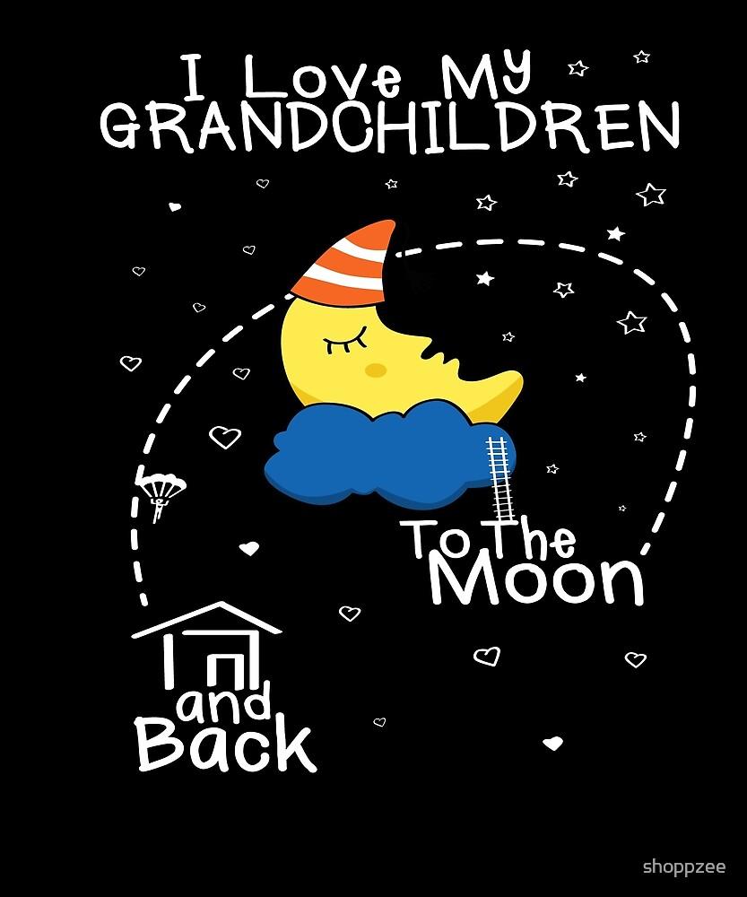 Love Grandchildren To Moon by shoppzee
