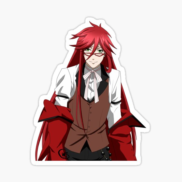 anime black butler stickers redbubble