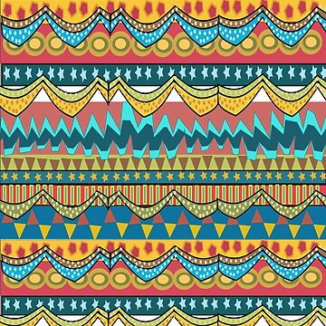 African Print  (2022  Views) by aldona