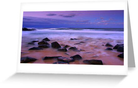 Autumn Beach Sunset  by Melanie Roberts