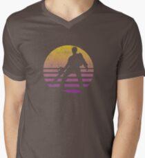 Evil Dead Sunset Men's V-Neck T-Shirt