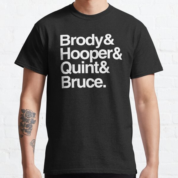 Jaws - Brody and Hooper and Quint and Bruce Classic T-Shirt