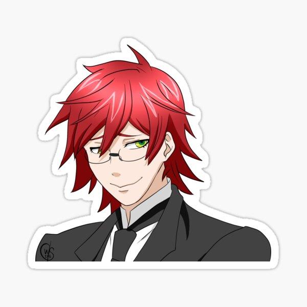 black butler stickers redbubble