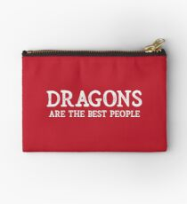 Dragons Are The Best People Studio Pouch