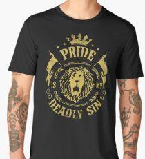 Pride is my deadly sin Men's Premium T-Shirt