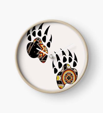 Bear Spirit Clock