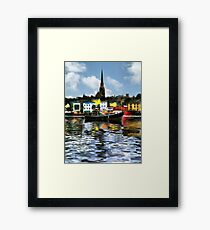Wexford Town Framed Print