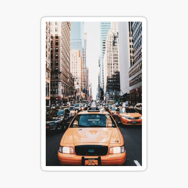 New York Pegatina