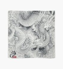 Ink painting dragon 180411 JAPAN Scarf