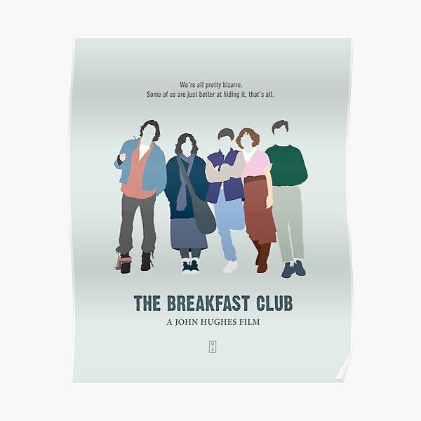 Le club du petit-déjeuner Poster