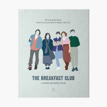 The Breakfast Club Art Board Print