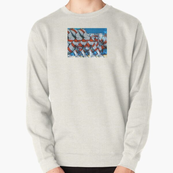 Stripes of Chile Pullover Sweatshirt