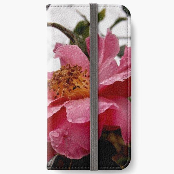 Raindrop Rose  iPhone Wallet