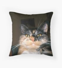 Demented Throw Pillow
