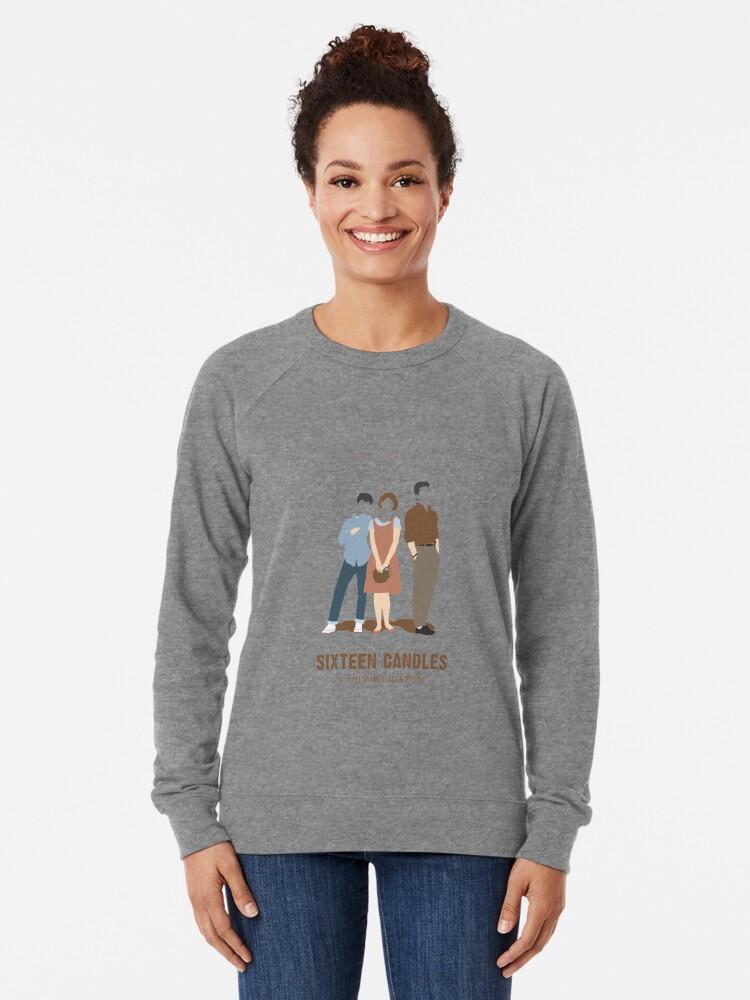 Alternative Ansicht von Sechzehn Kerzen Leichtes Sweatshirt