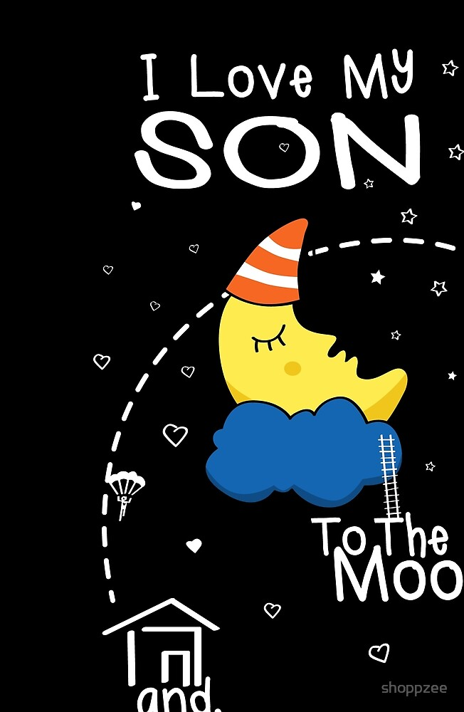 Son Love To The Moon by shoppzee